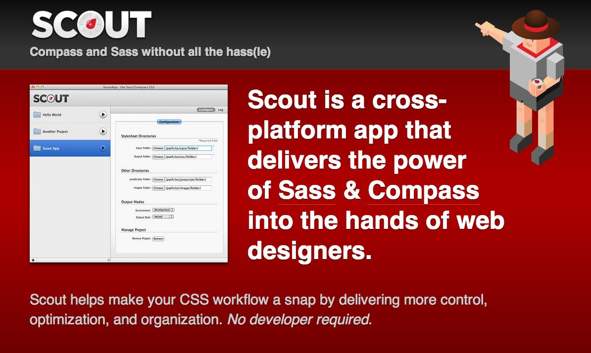 Website von Scout