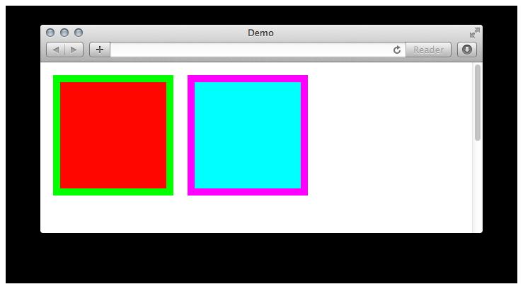 Invertierte Farben