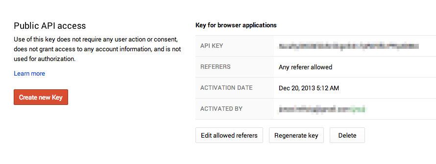 Zugangsdaten und API-Key