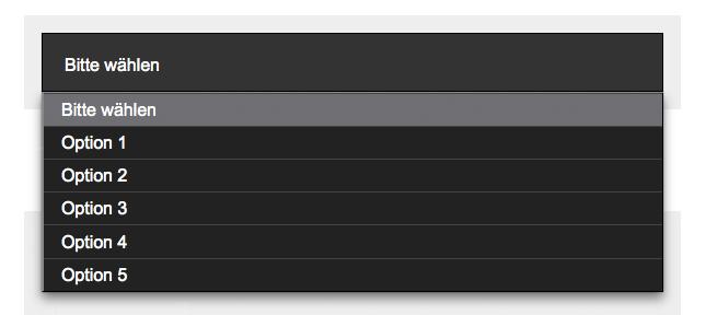 Gestaltetes option-Element in Firefox