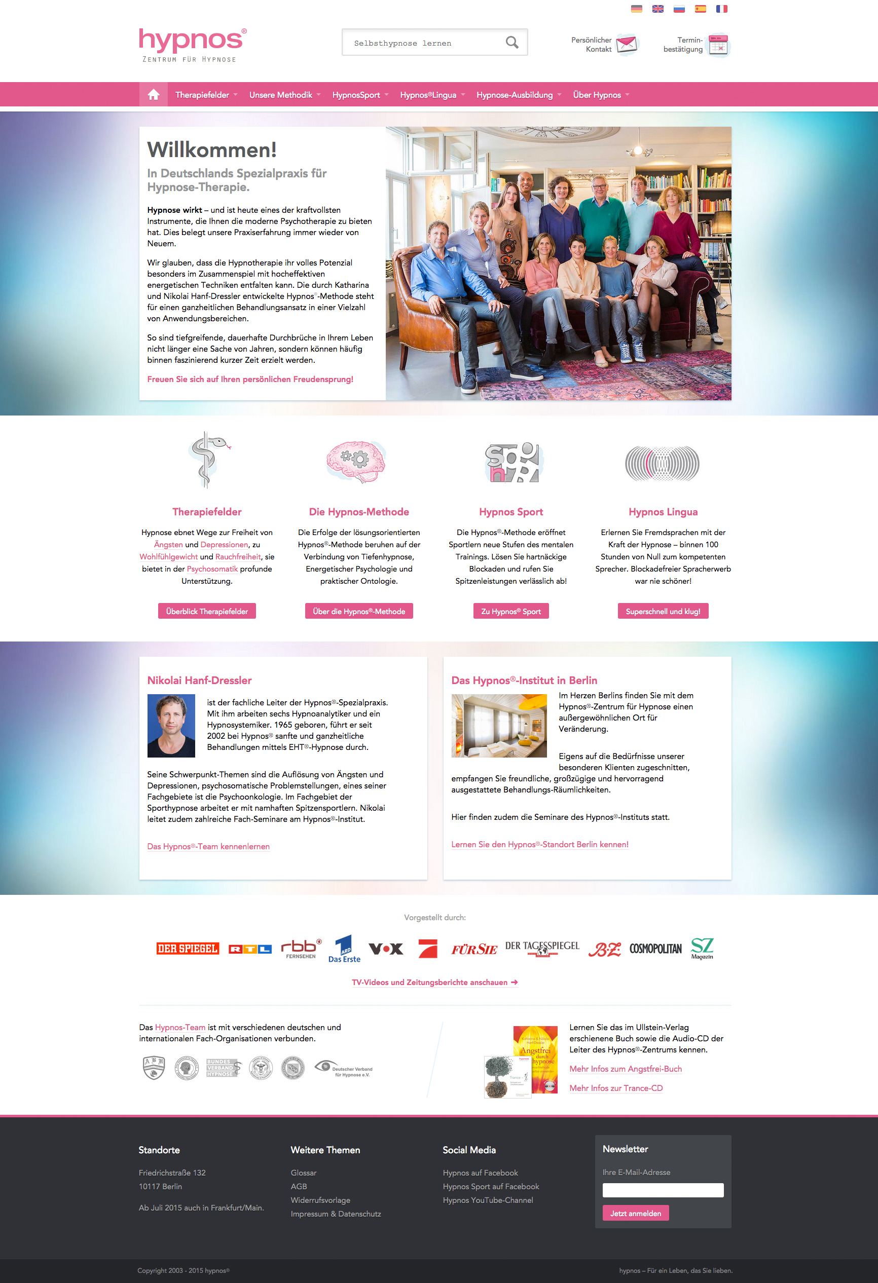 hypnos-homepage
