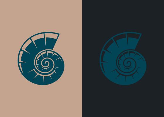 Die Farbe des Logos ist auf beiden Seiten identisch, wirkt jedoch durch die verschiedenen Hintergrundfarben unterschiedlich (Simultankontrast).