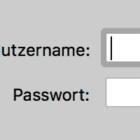 Passwort-Schutz für eine Website