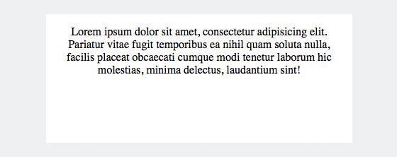 Text zentriert ausgerichtet mit CSS und »text-align:center«