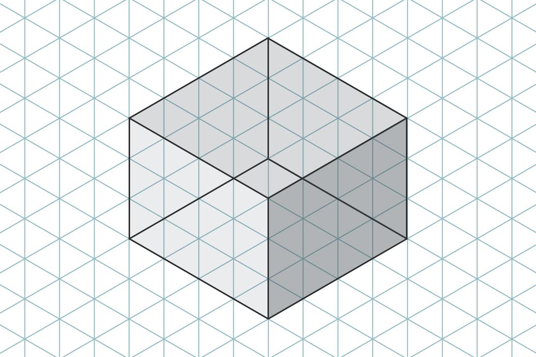 Isometrisches Raster