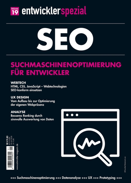 Cover EntwicklerSpezial Nr.19